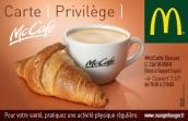 Carte de fidélité Mc Café (recto)