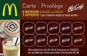 Carte de fidélité Mc Café (verso)