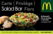 Carte de fidélité Salad Bar